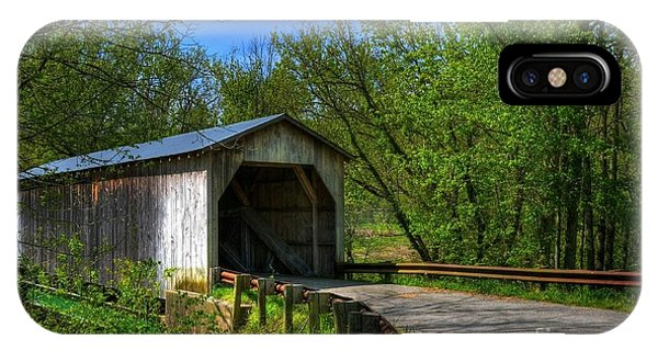 Dover Covered Bridge IPhone Case