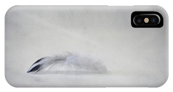 Plumes iPhone Case - Down Feather by Scott Norris