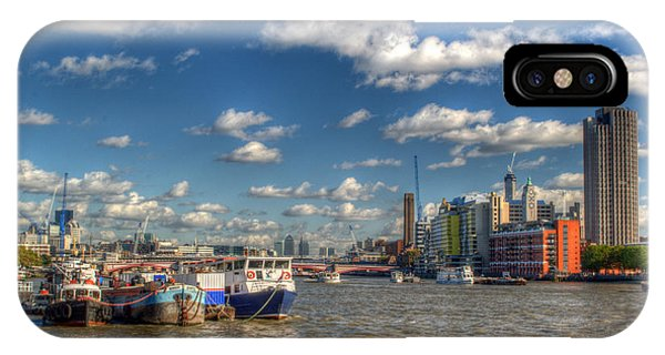 iPhone Case - Down River From Embankment by Chris Day
