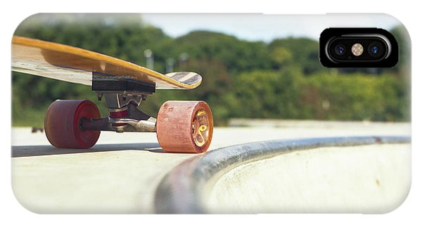 IPhone Case featuring the photograph Down The Skatepark by Will Gudgeon