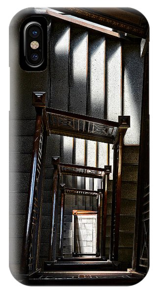 Down The Stairs IPhone Case