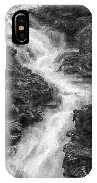 Granite iPhone Case - Down The Stream II by Jon Glaser