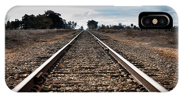 Down The Track IPhone Case