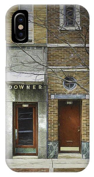 Facade iPhone Case - Downer by Scott Norris