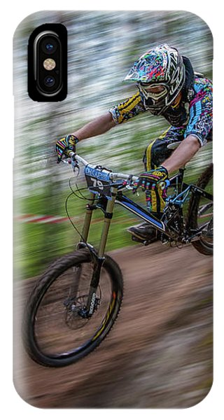 Downhill Race IPhone Case