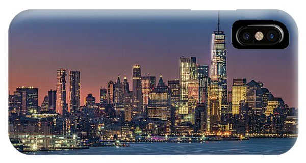 Downtown And Freedom Tower IPhone Case