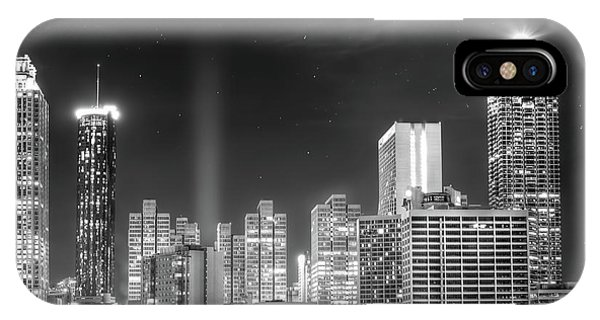 Downtown Atlanta Skyline IPhone Case