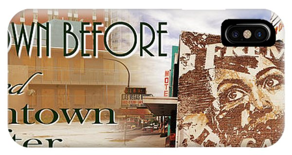 Downtown Before And Downtown After IPhone Case