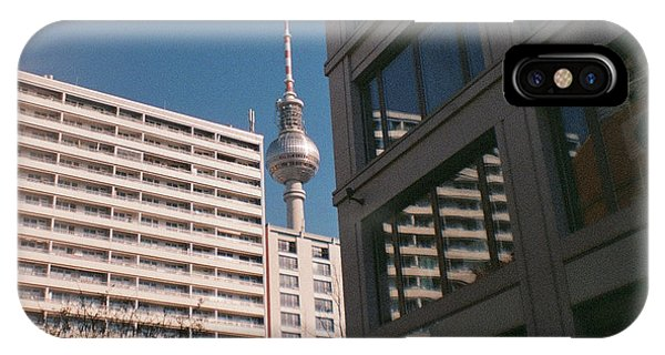 Downtown Berlin IPhone Case