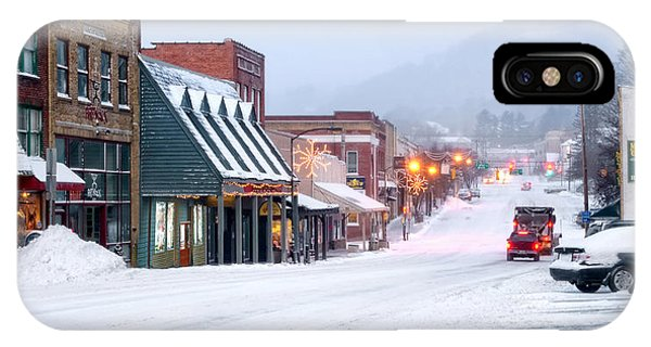 Nc iPhone Case - Downtown Boone by Tommy White