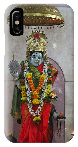 Downtown Ganeshpuri Durga Temple IPhone Case
