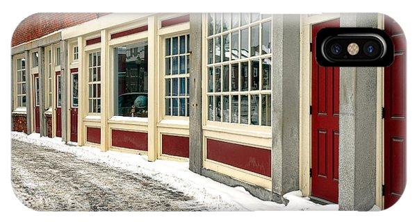 Downtown Gardiner Winter IPhone Case