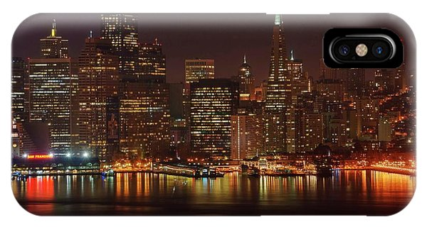 Downtown Gotham City IPhone Case