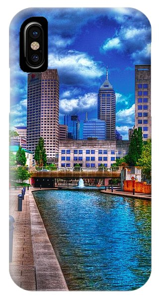 Downtown Indianapolis Canal IPhone Case