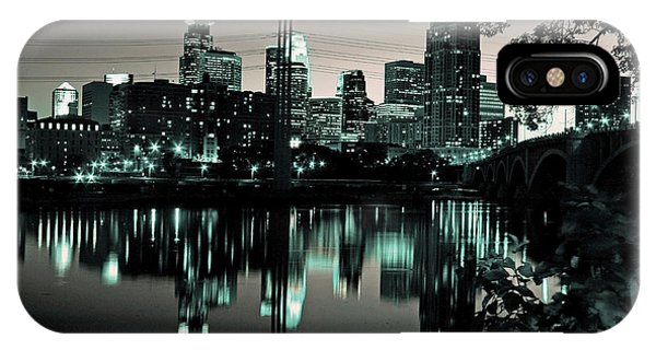 Downtown Minneapolis At Night II IPhone Case