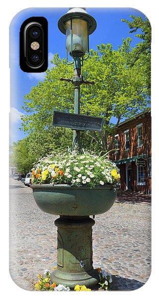 Downtown Nantucket - Garden View 46y IPhone Case