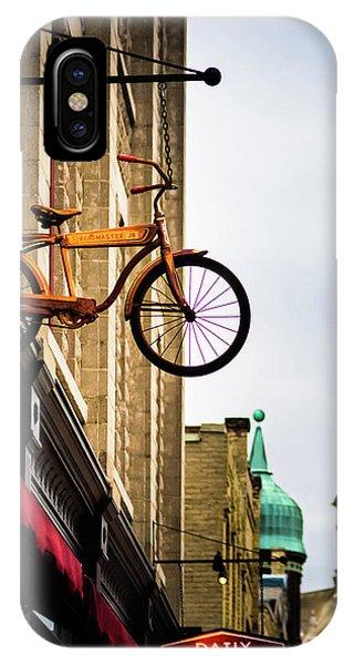 Downtown Port Washington, Wisconsin IPhone Case