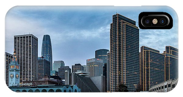 iPhone Case - Downtown San Francisco by Bill Gallagher