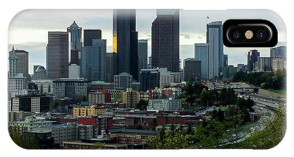 Downtown Seattle,washington IPhone Case