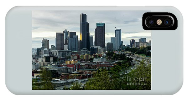 Downtown Seattle,washington IPhone Case