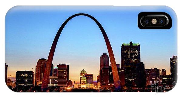 Downtown St Louis, Missouri Skyline Phone Case by Denis Tangney Jr