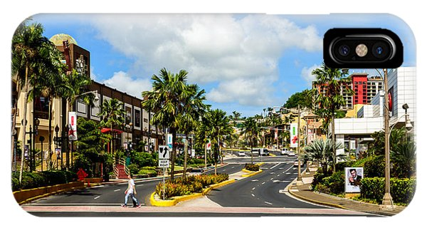 Downtown Tamuning Guam IPhone Case