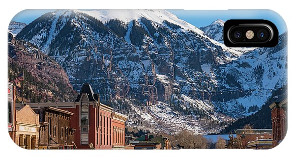 Downtown Telluride IPhone Case