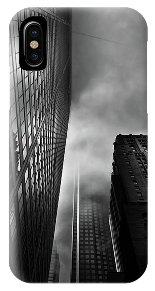 Downtown Toronto Fogfest No 4 IPhone Case