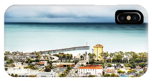 Downtown Ventura And Pier IPhone Case