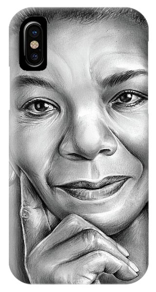 Dr Maya Angelou IPhone Case