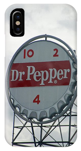Dr. Pepper Sign - Roanoke Virginia IPhone Case