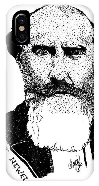 Dr. Robert Newell IPhone Case