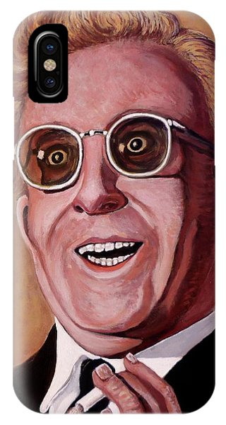 IPhone Case featuring the painting Dr. Strangelove 3 by Tom Roderick