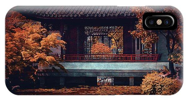 Dr. Sun Yat-sen Garden IPhone Case