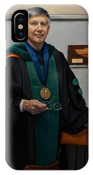 University Of Arkansas iPhone Case - Dr William Culp by Glenn Beasley