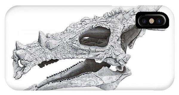 Dracorex Hogwartsia Skull IPhone Case