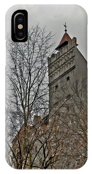 Dracula's Castle Transilvania In Hdr IPhone Case