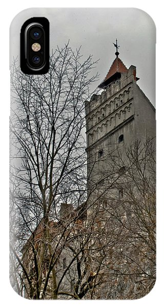 Dracula's Castle Transilvania In Hdr IPhone Case