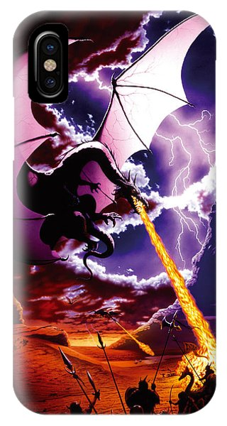 Dragon iPhone Case - Dragon Attack by The Dragon Chronicles - Steve Re