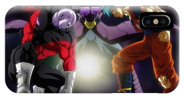 Saiyans iPhone Case - Dragon Ball Super - Goku, Hit, Jiren by Babbal Kumar
