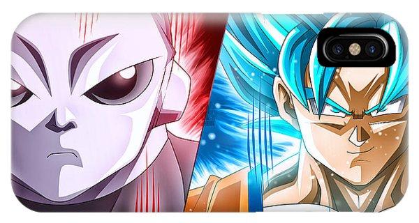 Shenron iPhone Case - Dragon Ball Super - Goku Vs Jiren by Babbal Kumar