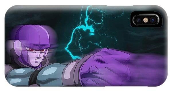 Saiyans iPhone Case - Dragon Ball Super - Hit by Babbal Kumar