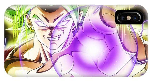 Saiyans iPhone Case - Dragon Ball Super - Kale by Babbal Kumar