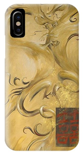 Dragon Double Happiness IPhone Case
