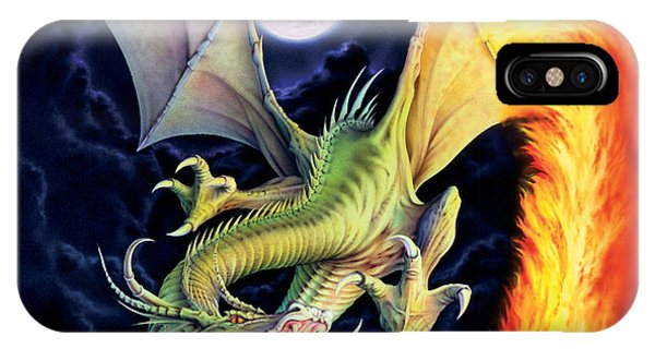 Dragon iPhone Case - Dragon Fire by The Dragon Chronicles