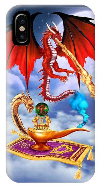 Dragon Genie IPhone Case
