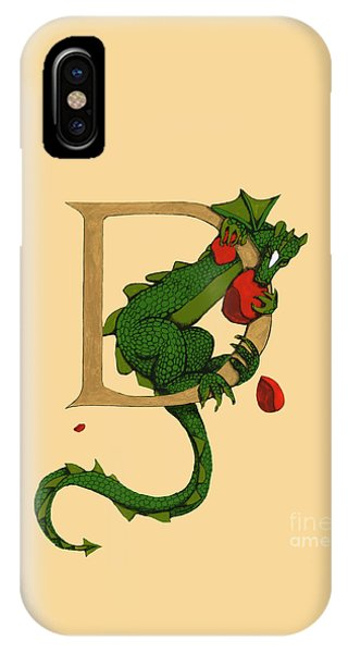 Dragon Letter D 2016 IPhone Case