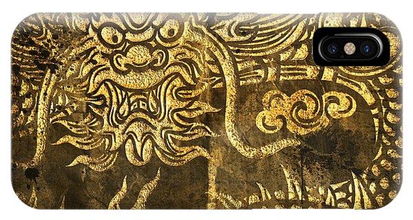 Beam iPhone Case - Dragon Pattern by Setsiri Silapasuwanchai