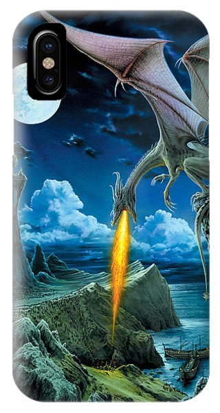 Dragon iPhone Case - Dragon Spit by The Dragon Chronicles - Robin Ko