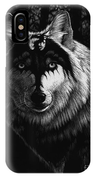 Dragon Wolf IPhone Case